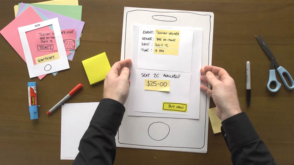 Welcome: UX Design Techniques: Paper Prototyping