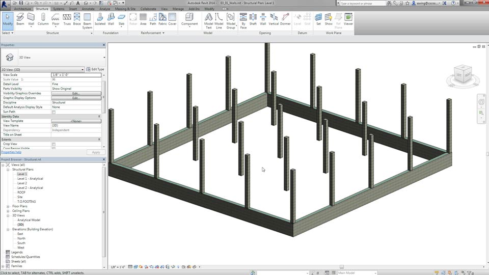 Welcome: Creating Concrete Buildings with Revit Structure