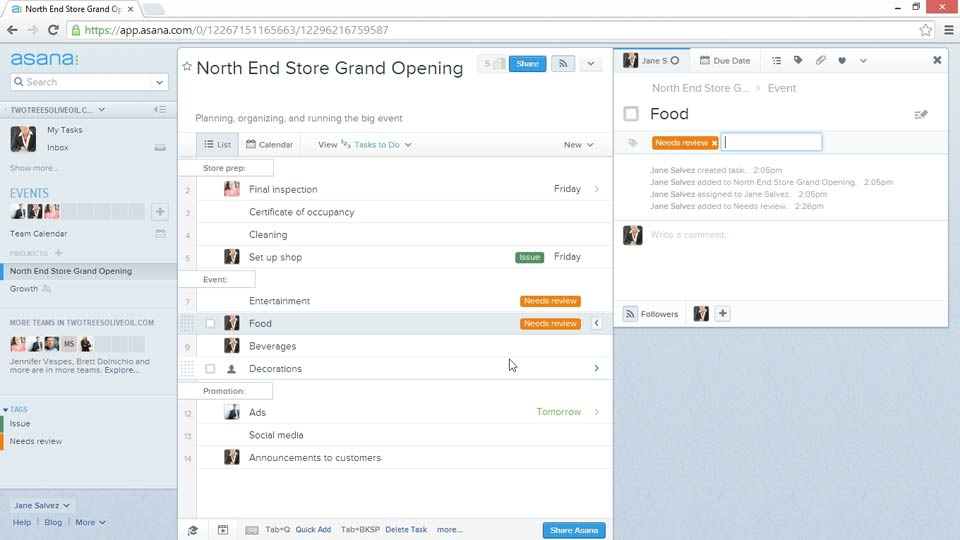 Welcome: Up and Running with Asana