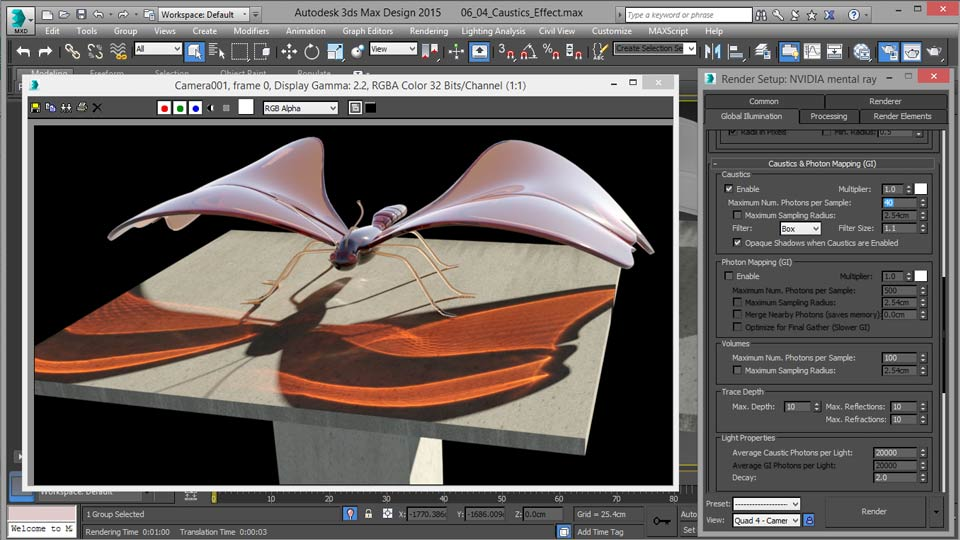 Welcome: Up and Running with mental ray in 3ds Max
