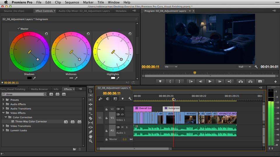 Welcome: Premiere Pro Guru: Video Finishing Techniques