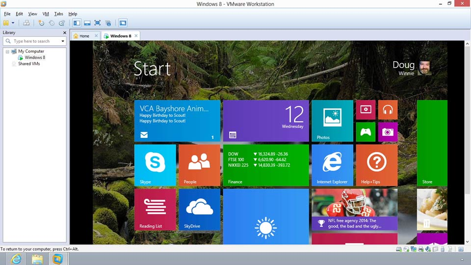: Installing Windows 8 in VMware Workstation