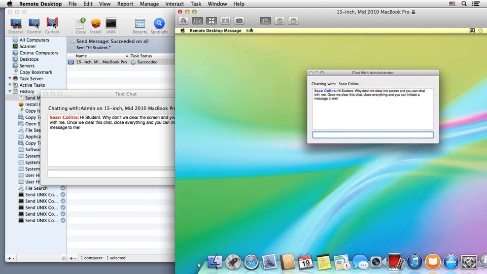 Welcome: Up and Running with Apple Remote Desktop