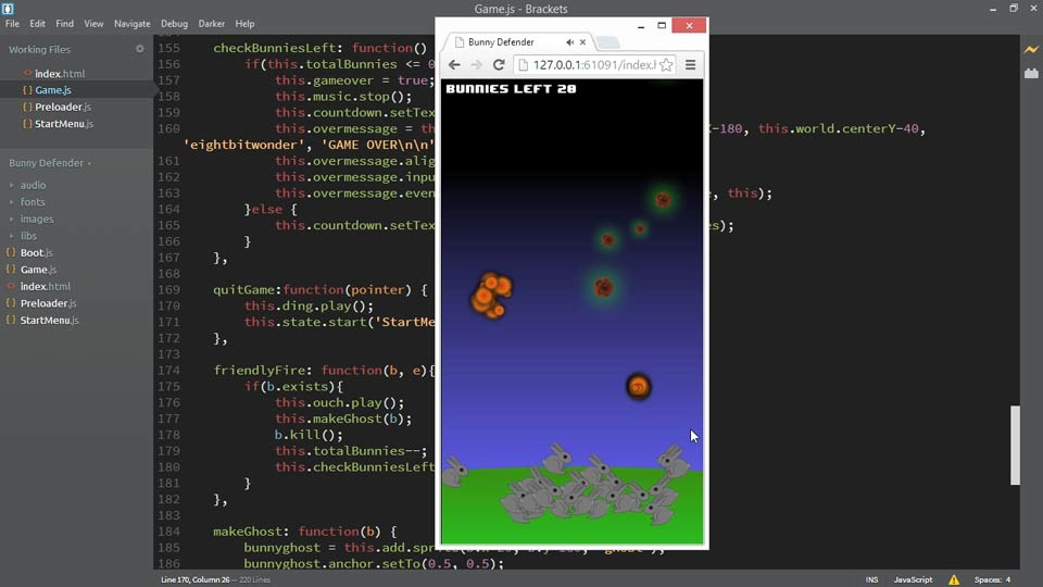 Welcome: HTML5 Game Development with Phaser