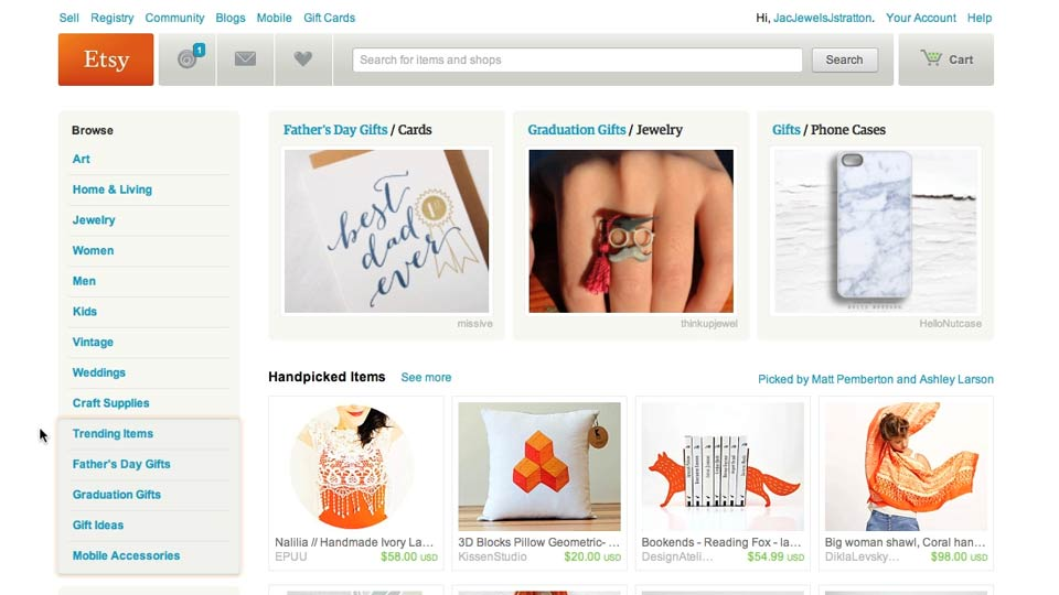 Welcome: Selling on Etsy