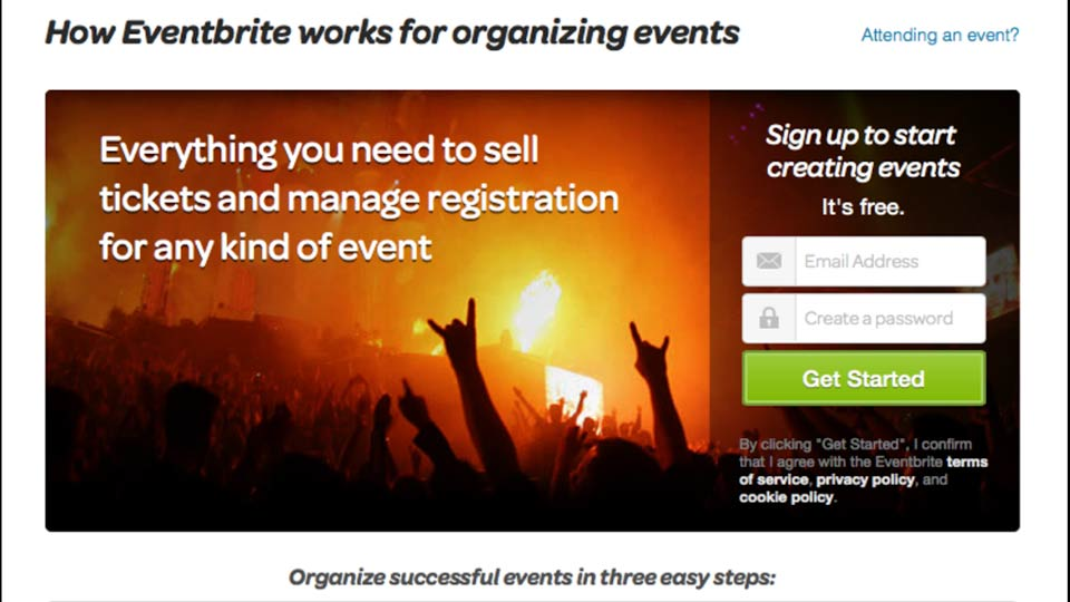 Welcome: Up and Running with Eventbrite