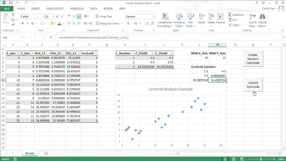 Ediblewildsus  Unusual Dataanalysis Fundamentals With Excel With Extraordinary Up And Running With Excel Cluster Analysis With Awesome Frequency Formula Excel Also Wildcard In Excel In Addition Rank Formula In Excel And How To Combine  Columns In Excel As Well As Add Column In Excel Additionally How To Draw Lines In Excel From Lyndacom With Ediblewildsus  Extraordinary Dataanalysis Fundamentals With Excel With Awesome Up And Running With Excel Cluster Analysis And Unusual Frequency Formula Excel Also Wildcard In Excel In Addition Rank Formula In Excel From Lyndacom