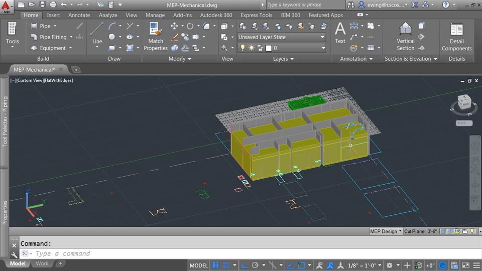 : AutoCAD MEP Essential Training