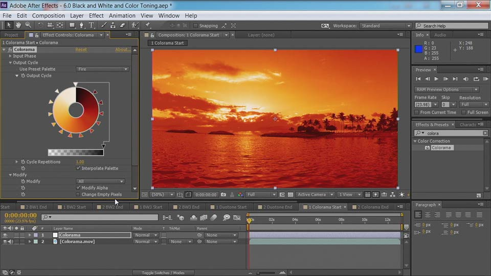 Welcome: After Effects Guru: Color Grading Footage