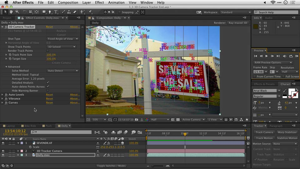 Welcome: After Effects Guru: Tracking and Stabilizing Footage