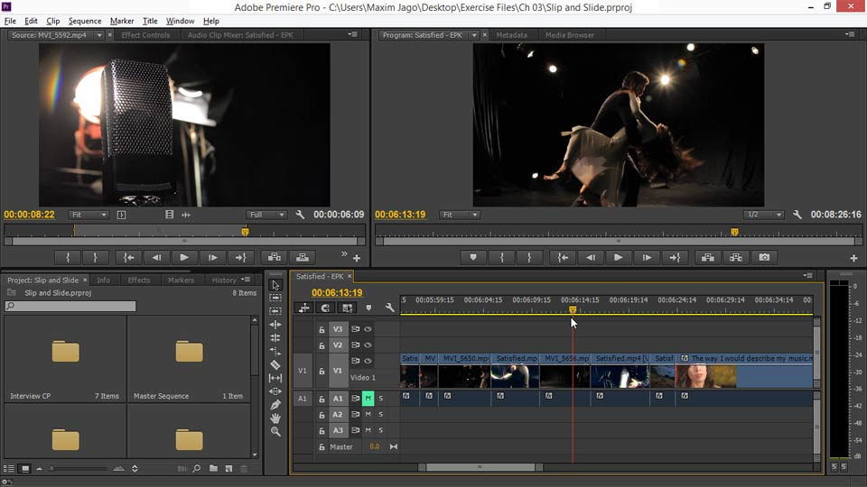 Welcome: EPK Editing Workflows 02: Creative Editing and Fine-Tuning