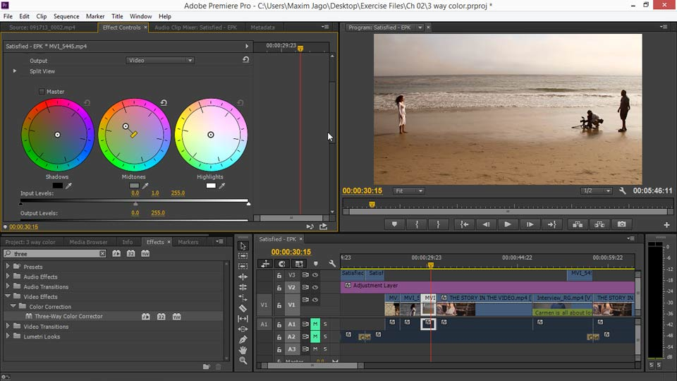 Welcome: EPK Editing Workflows 03: Color Correction, Visual Effects, and Finishing