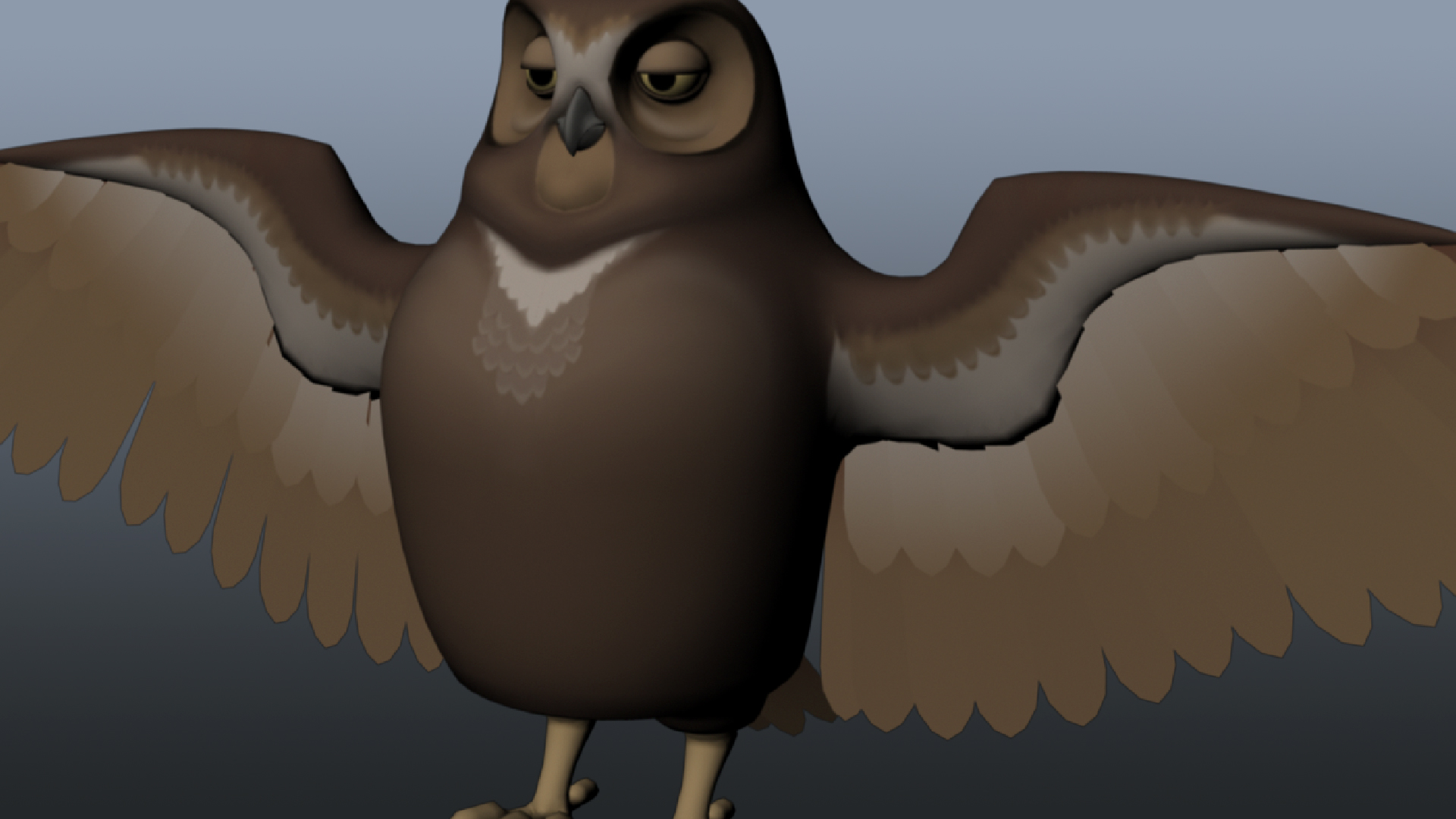 Rigging a Winged Animal in Maya