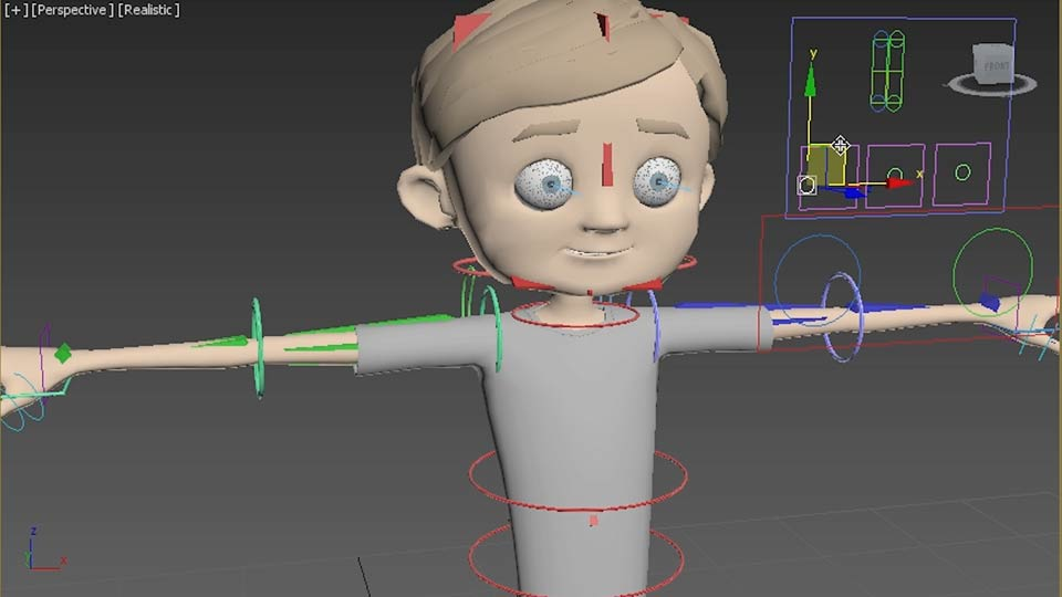 Welcome: Character Rigging in 3ds Max