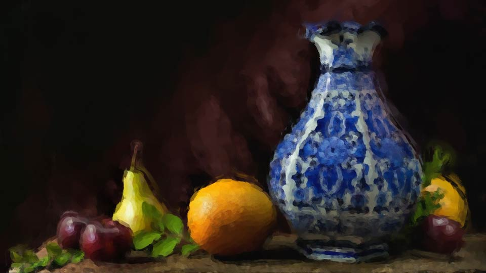 Learning Digital Painting & Lighting and Photographing a Still Life azcodes.com