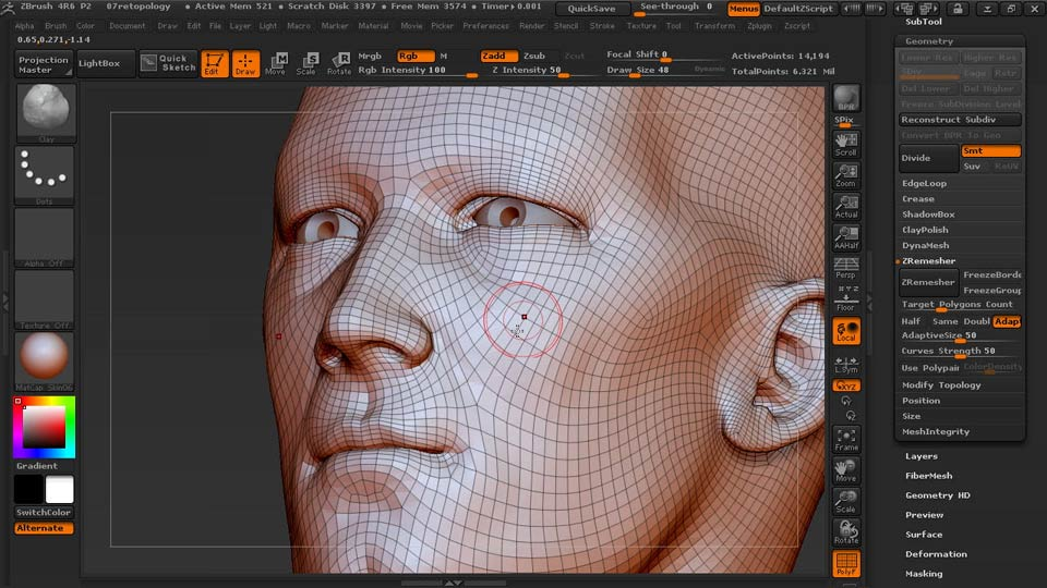 Welcome: Sculpting Portraits in ZBrush
