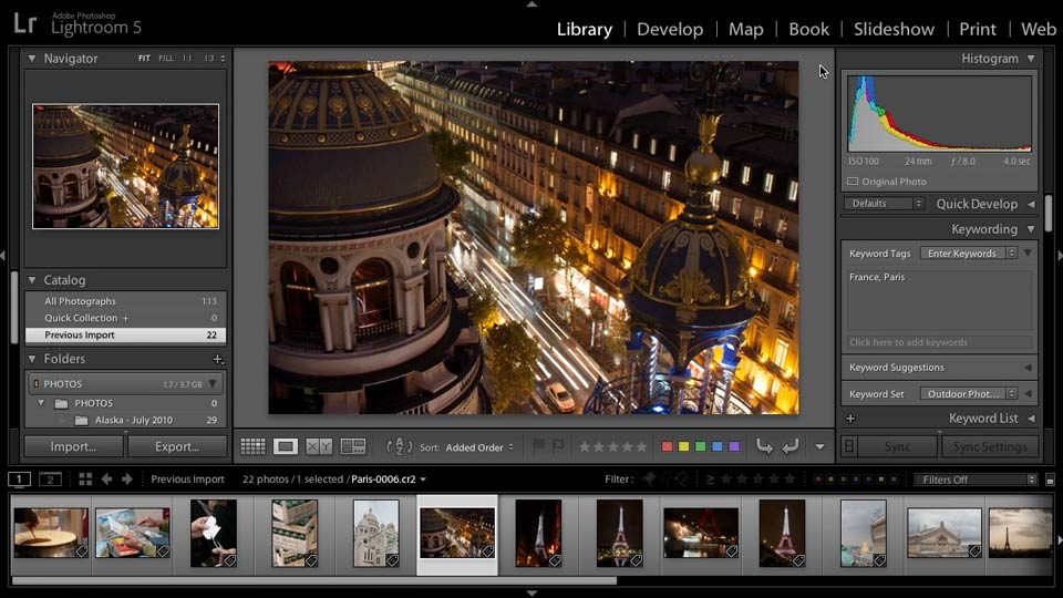 : Lightroom 5: 01 Organizing Your Photos