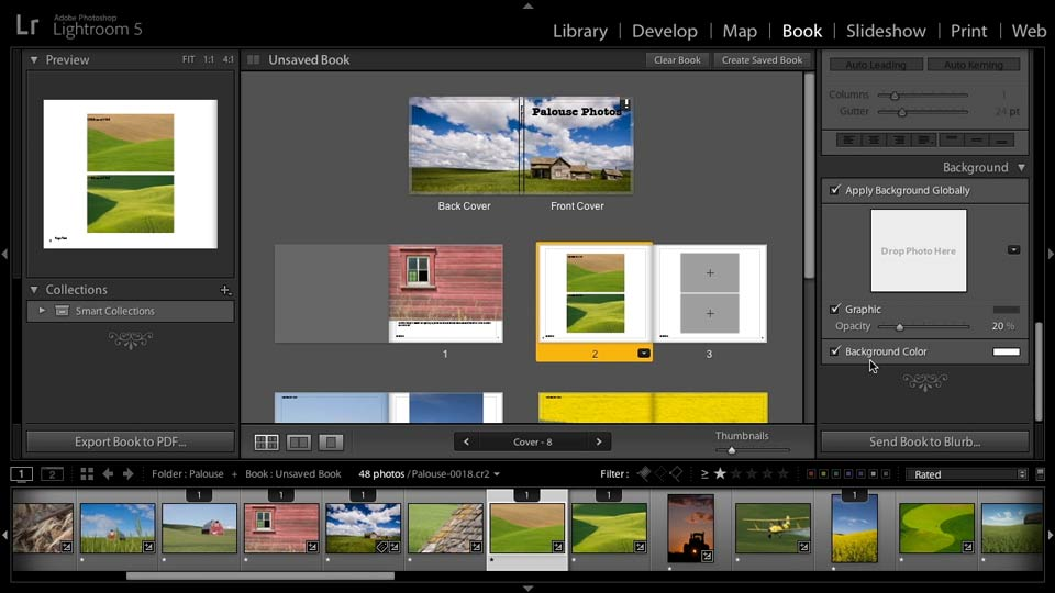 Basic book options: Lightroom 5: 07 Making Photo Books