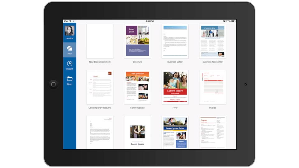 Introducing Microsoft Office for iPad: Office for iPad First Look