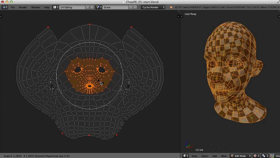 Welcome: Blender UV Mapping