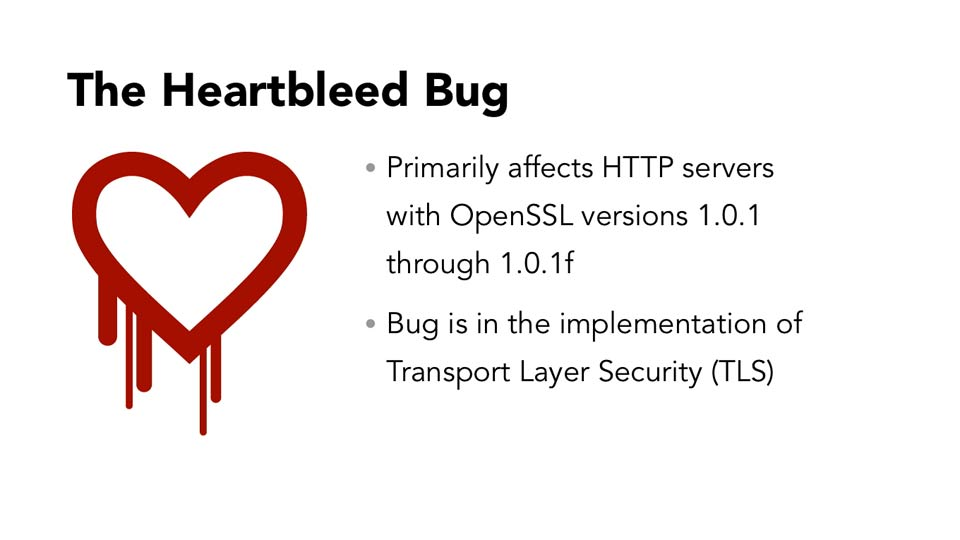 : Heartbleed Tactics for Small IT Shops