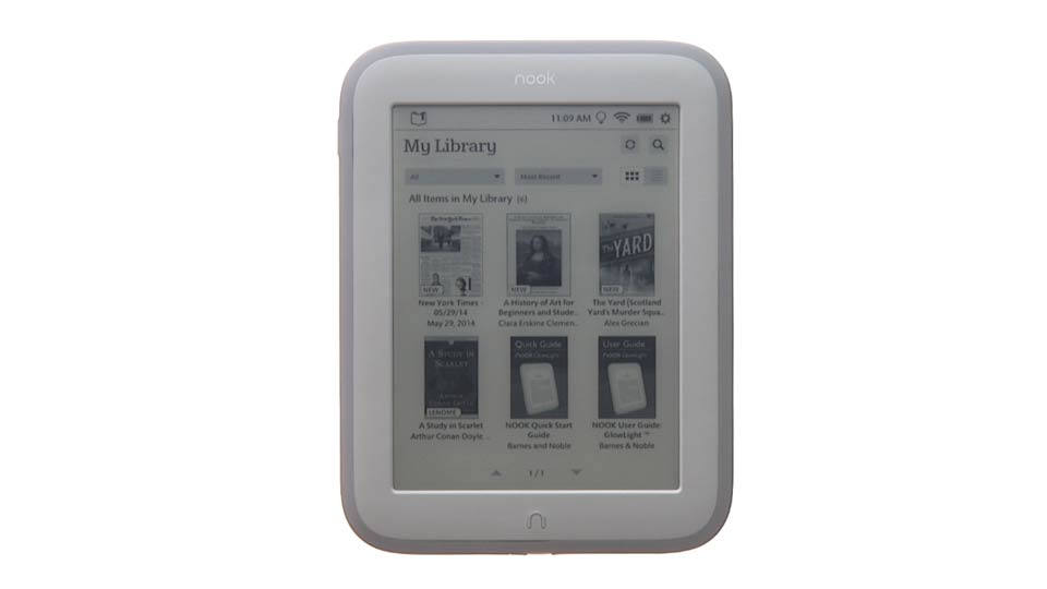 Welcome: Up and Running with NOOK