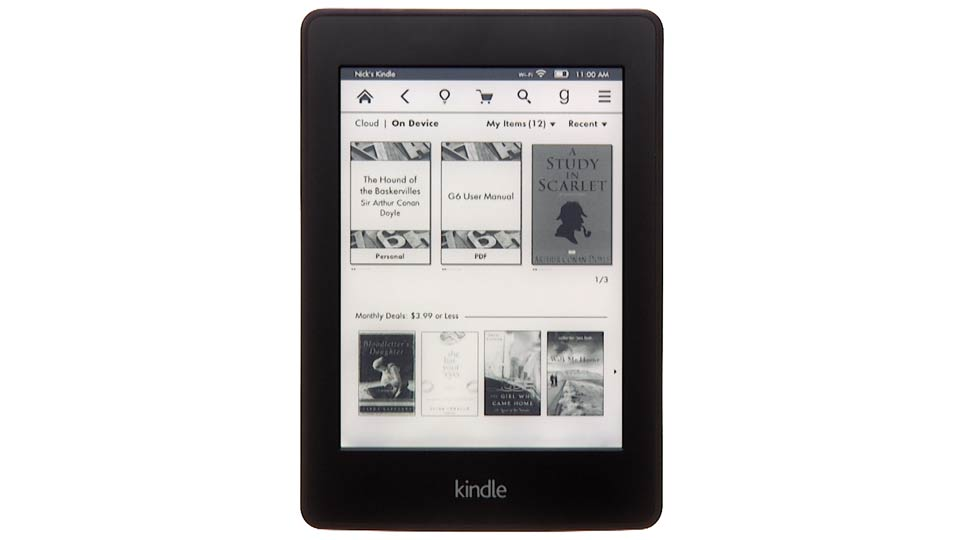 Welcome: Up and Running with Kindle