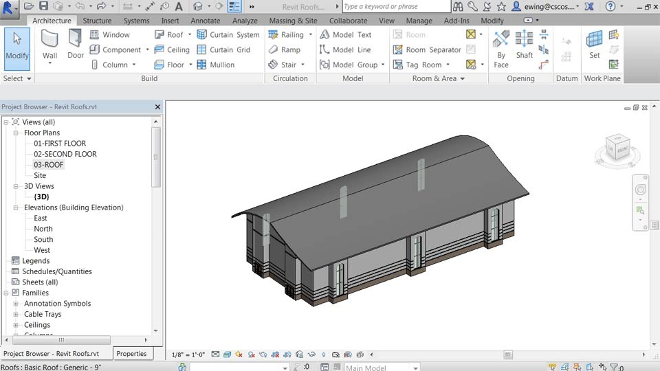 Welcome: Building Roofs with Revit