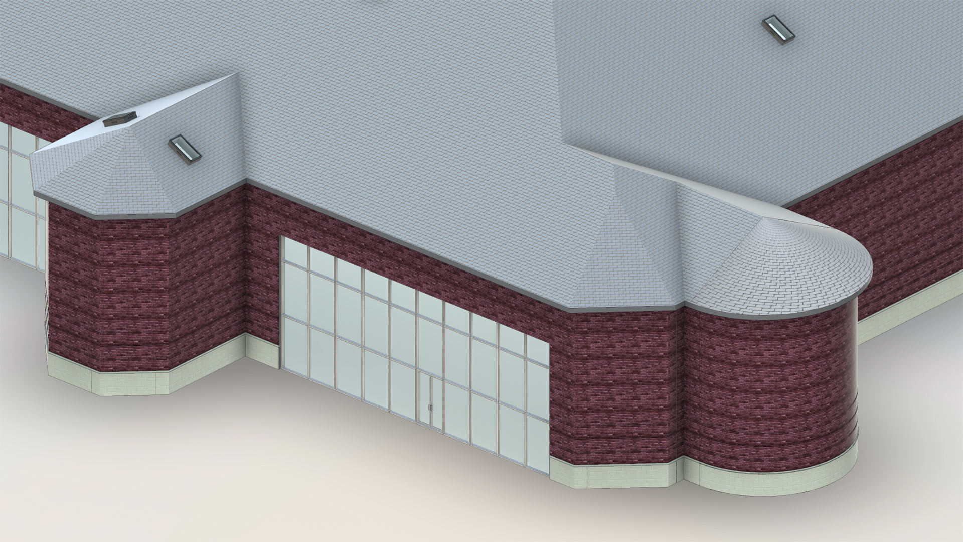 building roofs with revit