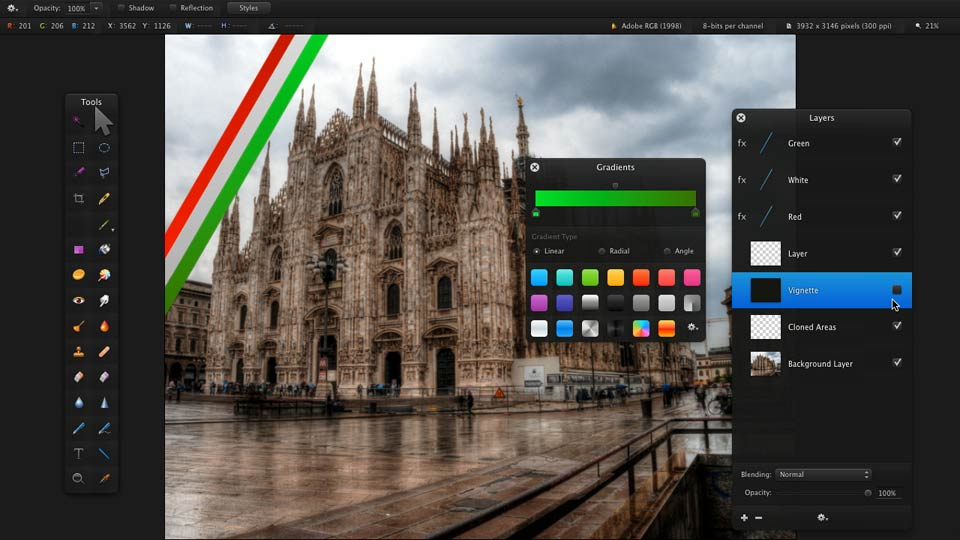 Welcome: Up and Running with Pixelmator