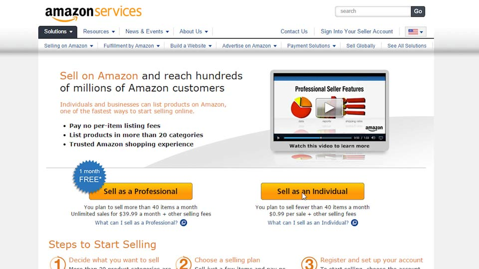 Welcome: Selling on the Amazon Marketplace