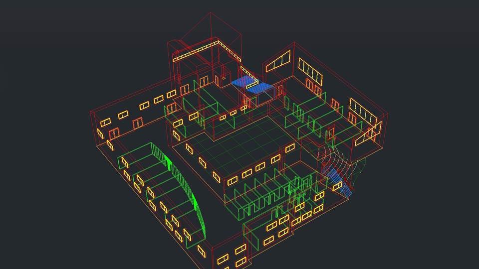 how to create a 3d model in autocad 2014
