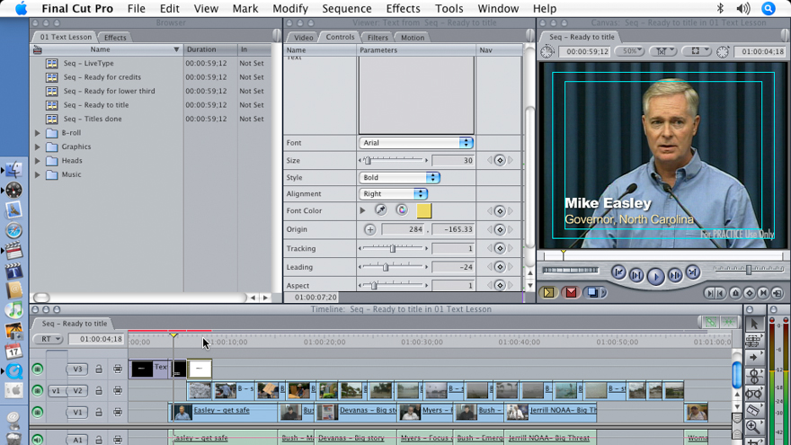 Welcome: Final Cut Pro 5 Essential Effects