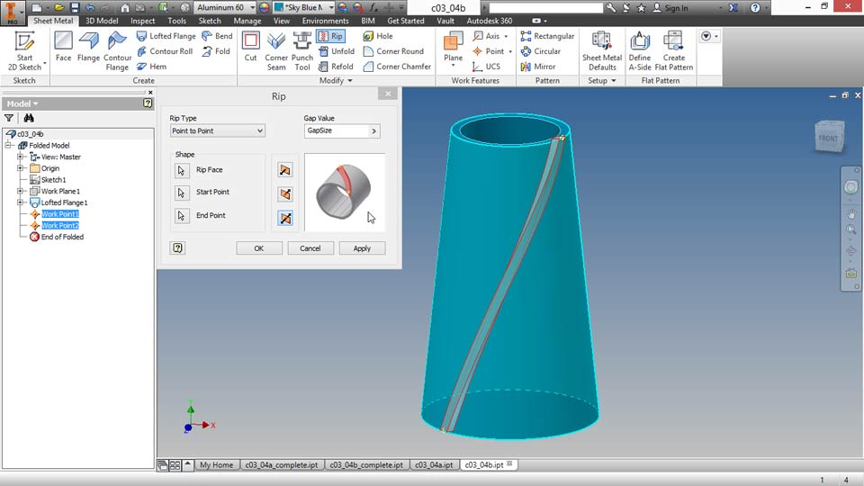 Welcome: Sheet Metal Design with Inventor