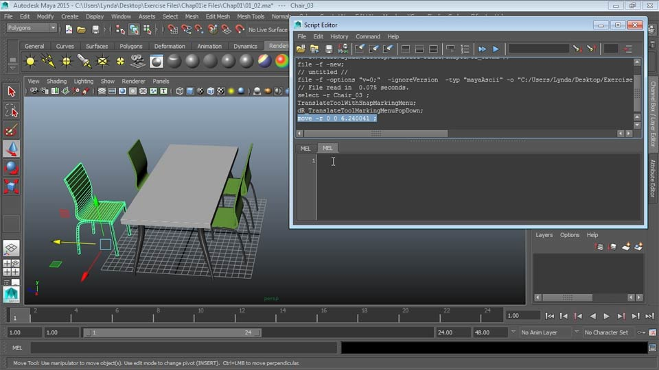 Welcome: Up and Running with MEL Scripting in Maya