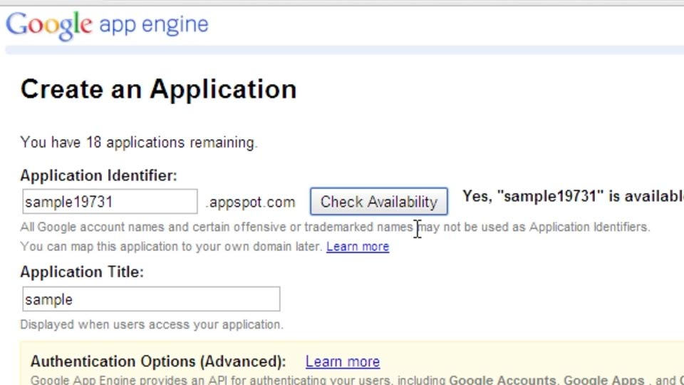 Welcome: Using Java to Program Google App Engine