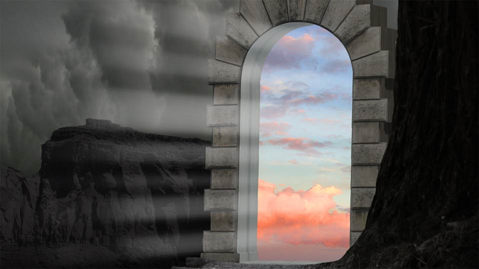 Creating Dreamscapes In Photoshop Arch To Somewhere Else