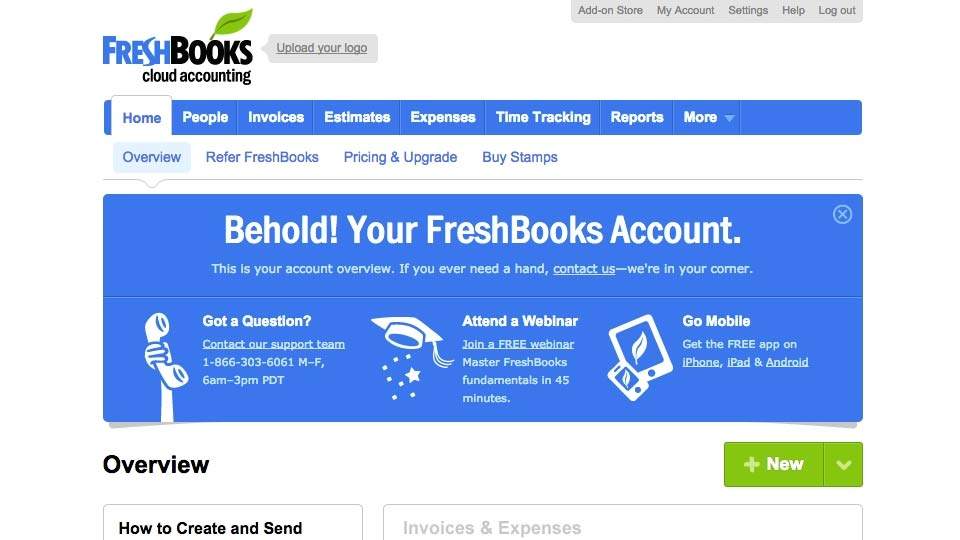 Welcome: FreshBooks Essential Training