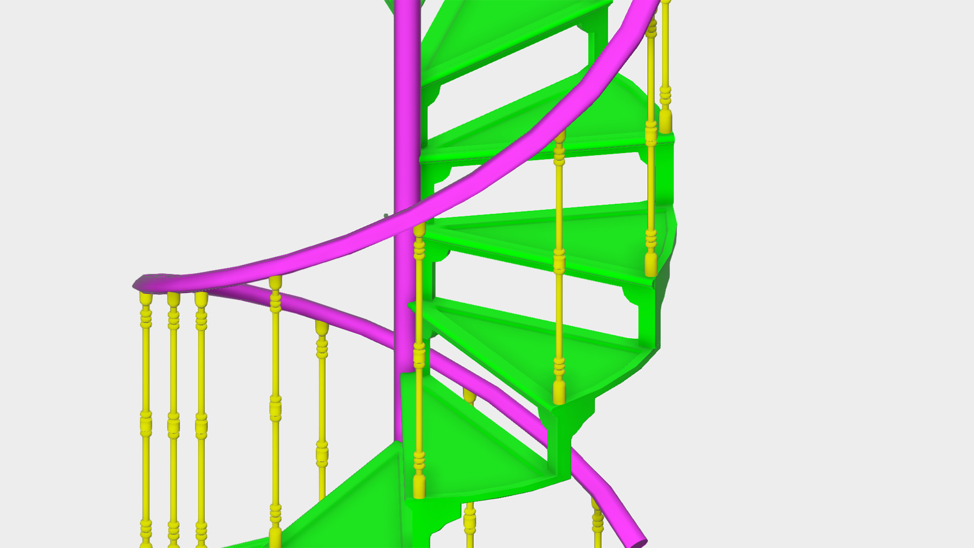 Modeling a Staircase with AutoCAD