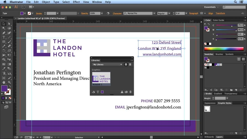 Welcome: Designing Templates with Illustrator