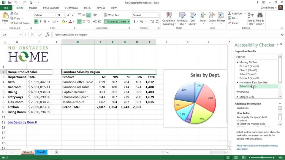 Welcome: Creating Accessible Microsoft Office Documents