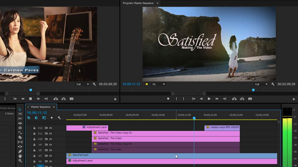Welcome: EPK Editing Workflows 06: The Final Product