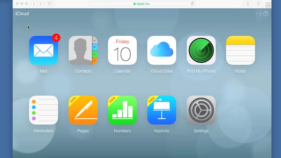 Linking an iPhone, iPad, or iPod touch to iCloud: iCloud Essential Training