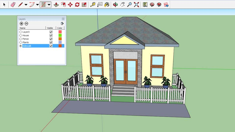 Sketchup 2015 essential training Architecture home learning courses