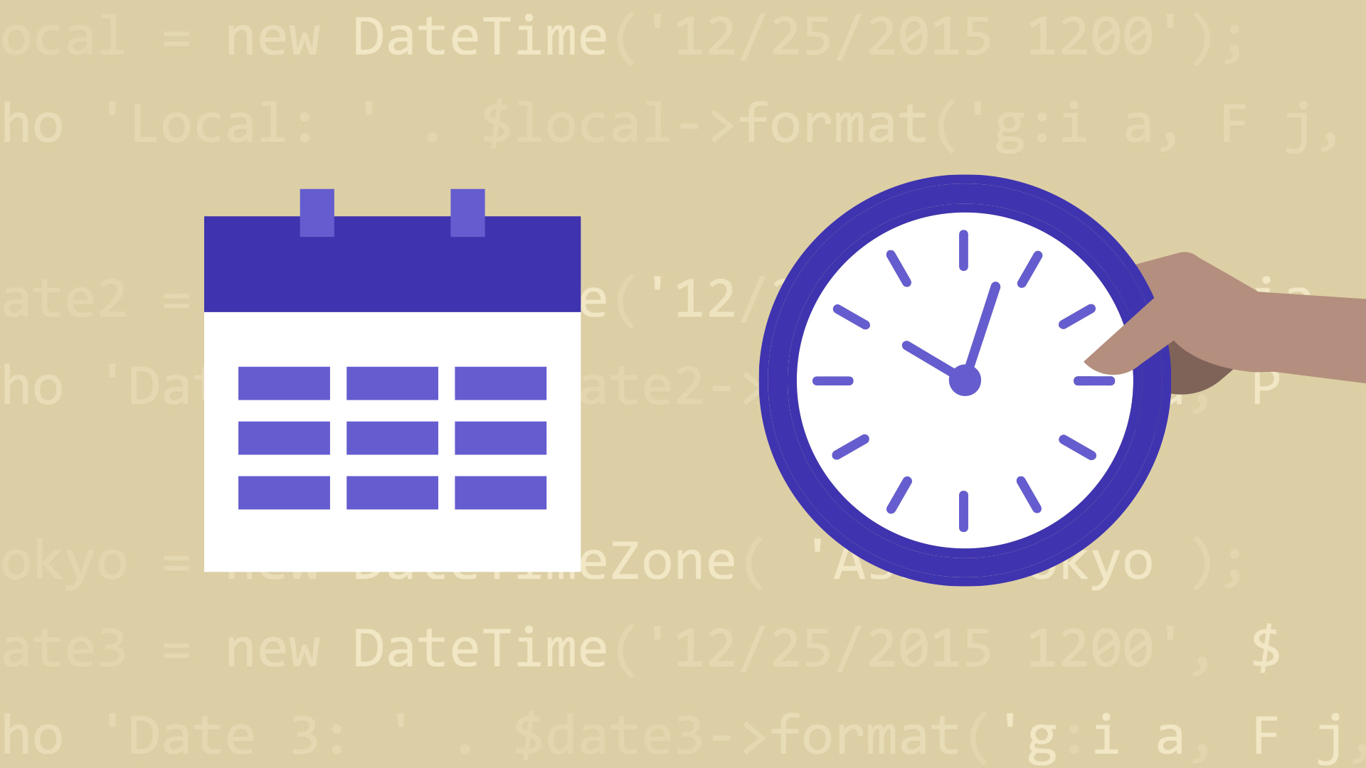 php create date from string