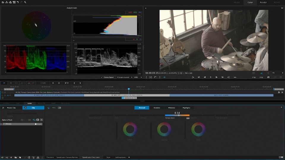 Welcome: Premiere Pro Guru: Lumetri Workflows using SpeedGrade and Direct Link