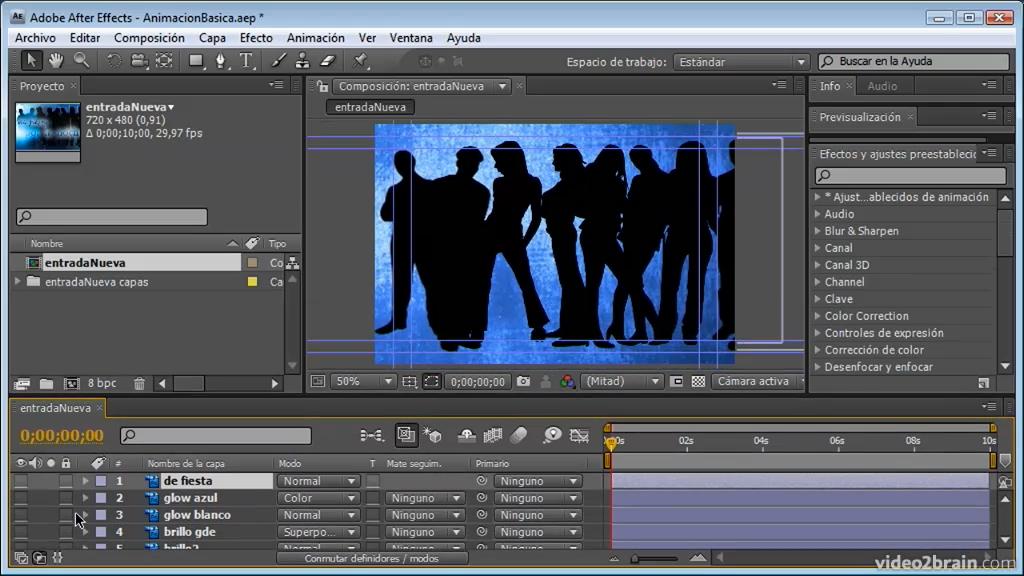 Adobe After Effects para usuarios de Photoshop