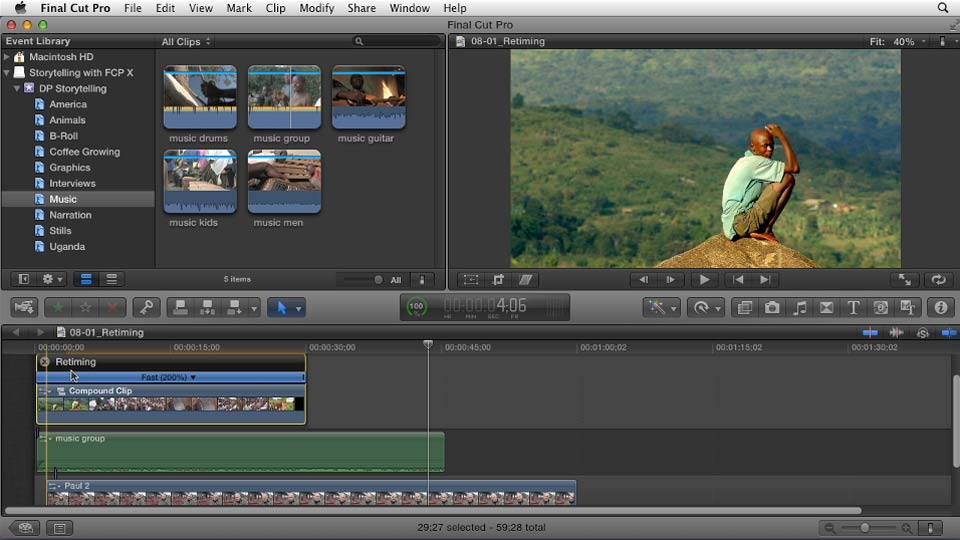 how to make final cut pro movies smaller