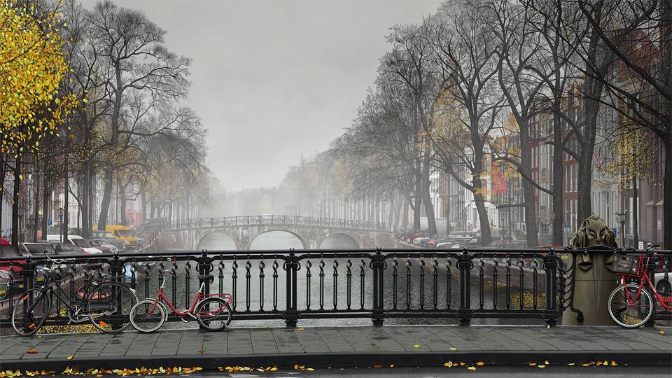 Welcome: Bert Monroy: The Making of Amsterdam Mist, the Vehicles