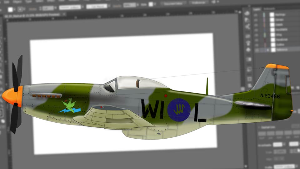 Welcome: Creating Aircraft Profiles with Adobe Illustrator and Photoshop
